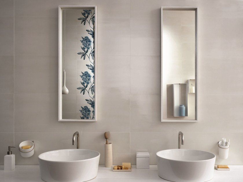 White-paste wall tiles IMPERFETTO by MARAZZI