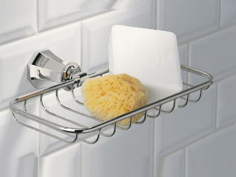 Wall-mounted soap dish ART DECO | Soap dish - INTERCONTACT