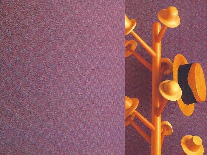 Sound absorbing synthetic fibre wallpaper WALLDESIGN® KING - TECNOFLOOR Industria Chimica