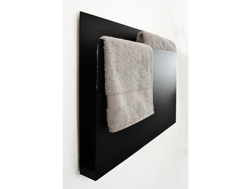 Wall-mounted Electric Aluminium Towel Warmer MAGAZINE