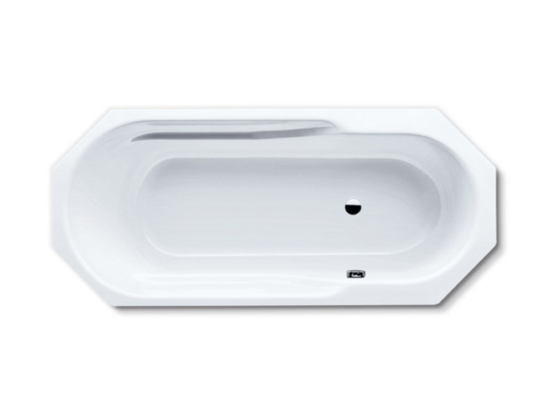 Built-in octagonal steel bathtub RONDO 8 - Kaldewei Italia