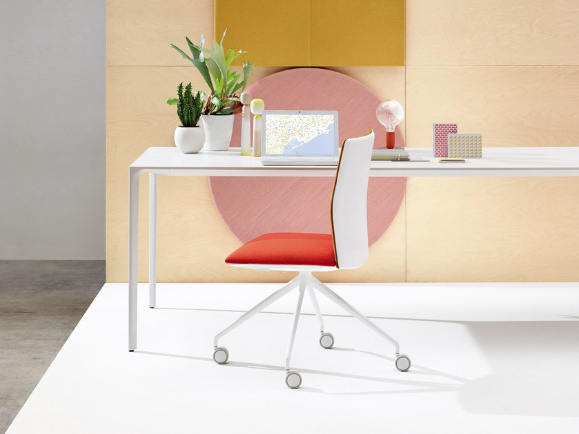 Swivel task chair KINESIT | Task chair - Arper