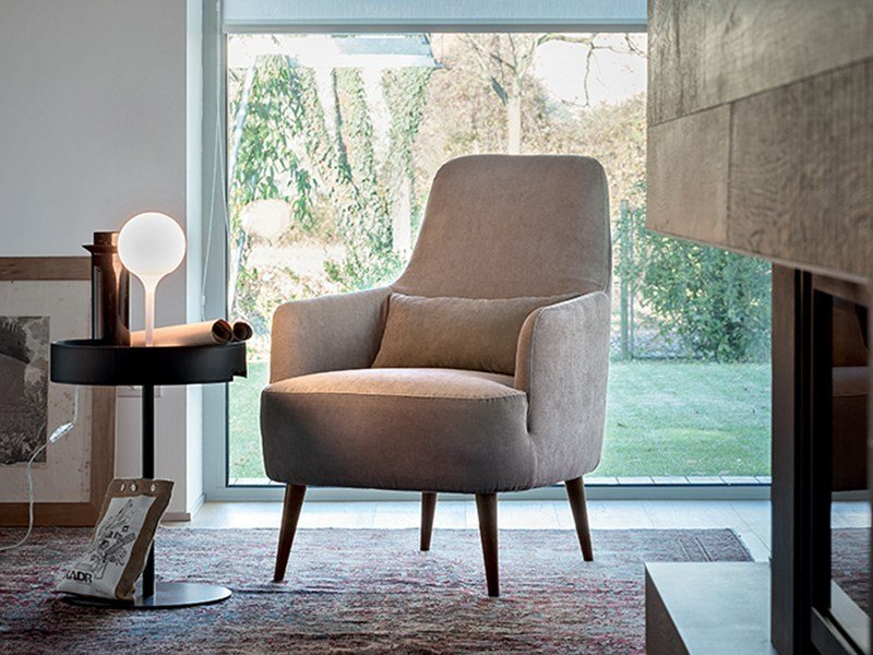 High-back armchair RAY | Armchair by Ditre Italia