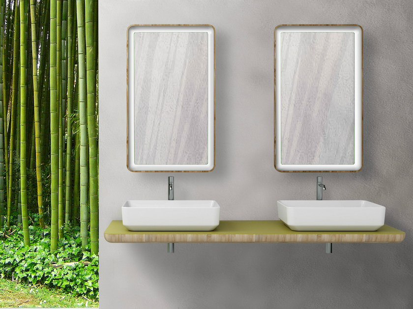 Ceramic washbasin GREEN | Countertop washbasin - CERAMICA CATALANO