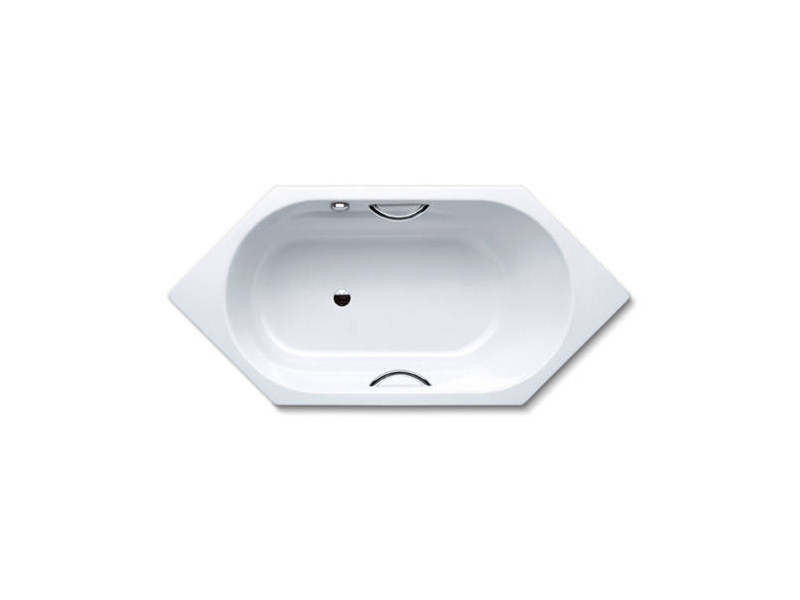 Built-in hexagonal bathtub VAIO 6 STAR - Kaldewei Italia