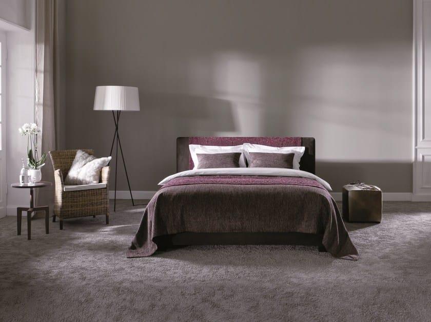 Upholstered fabric double bed Basis 18 + CHANGE - Schramm Werkstätten