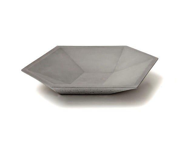Concrete plate CUBE PLATE - URBI et ORBI