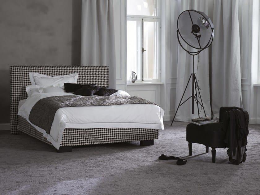 Upholstered double bed Basis 25 + CHANGE - Schramm Werkstätten