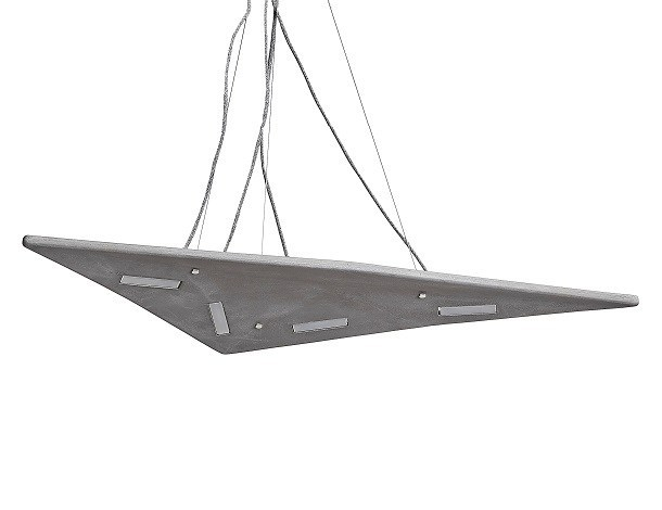 LED pendant lamp HERON 1000 by URBI et ORBI