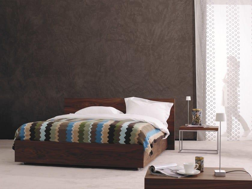 Wooden double bed Gala 28-M + CHANGE - Schramm Werkstätten