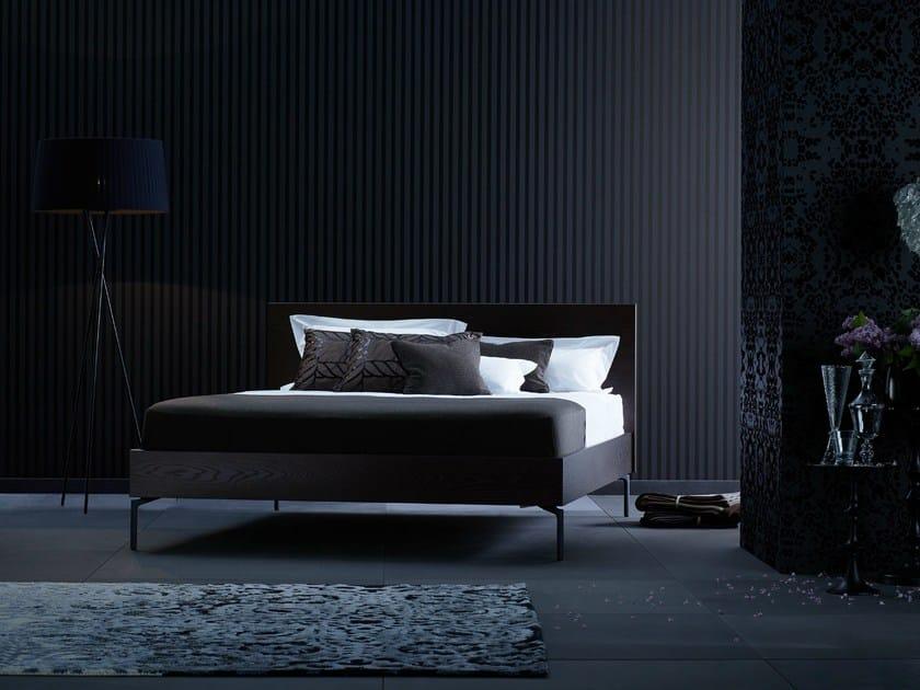 Wooden double bed Gala 18-S + ANNA by Schramm Werkstätten