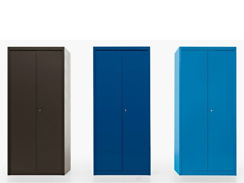 Tall office storage unit with lock ROBUSTO | Office storage unit - Fantin