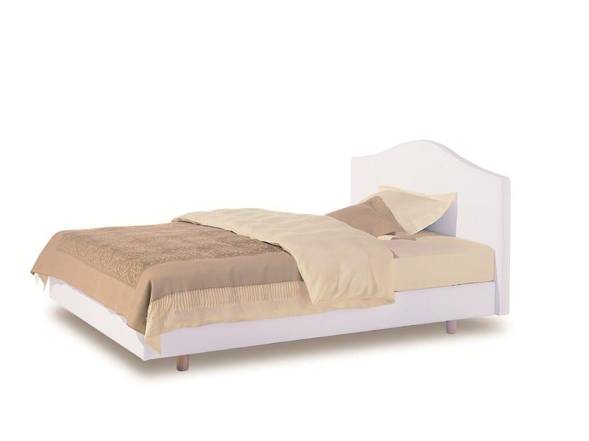 Upholstered double bed SAVOY 21 + FINESSE 2 - H - Schramm Werkstätten