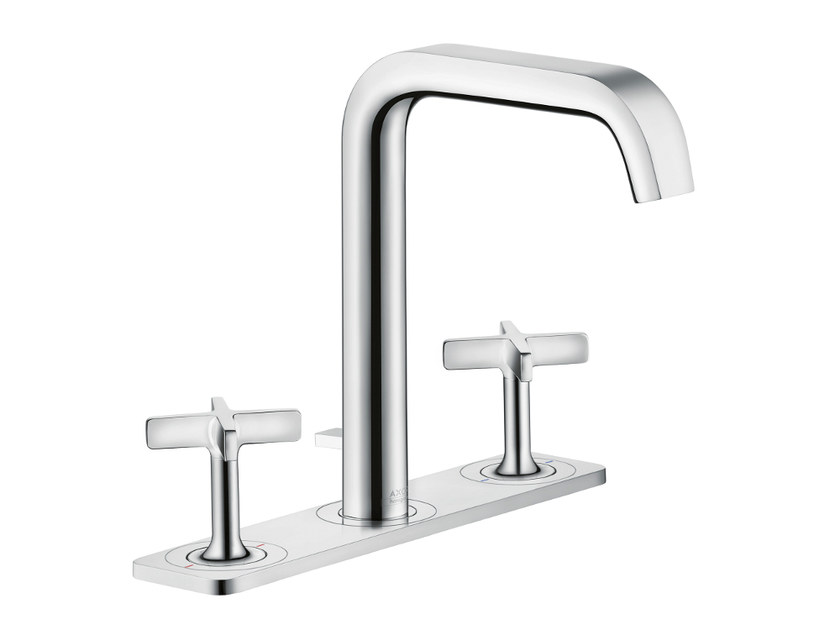 Countertop washbasin tap with plate AXOR CITTERIO E | Washbasin tap with plate - HANSGROHE