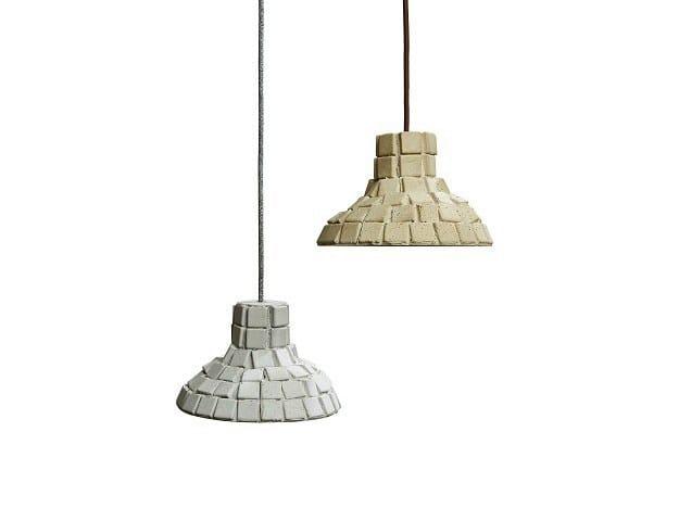 Concrete pendant lamp MIRUM - URBI et ORBI