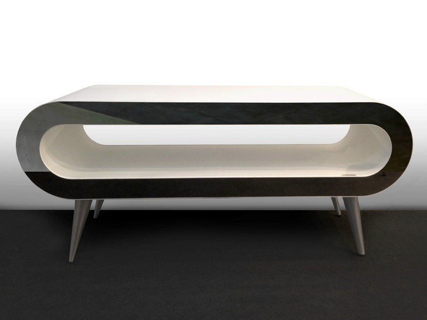 Floor-standing horizontal radiator ARENA TABLE - FOURSTEEL