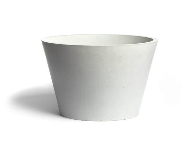 Countertop concrete washbasin CIRCUM 3826 - URBI et ORBI