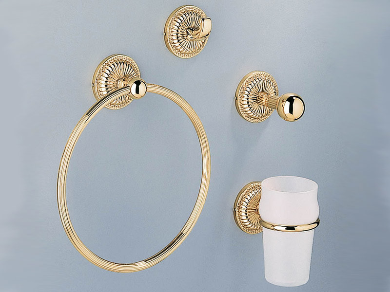 Set of bathroom accessories CYGNE | Accessory Set - INTERCONTACT