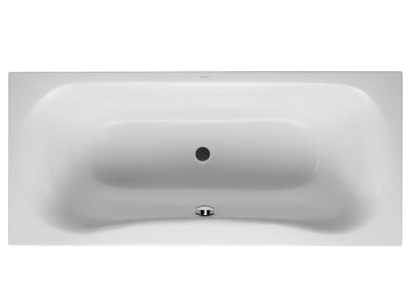 Built-in rectangular acrylic bathtub PURAVIDA | Built-in bathtub - DURAVIT