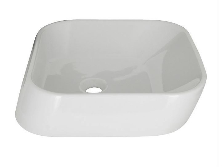 Countertop square single washbasin ESSENCE-C | Countertop washbasin - NOKEN DESIGN