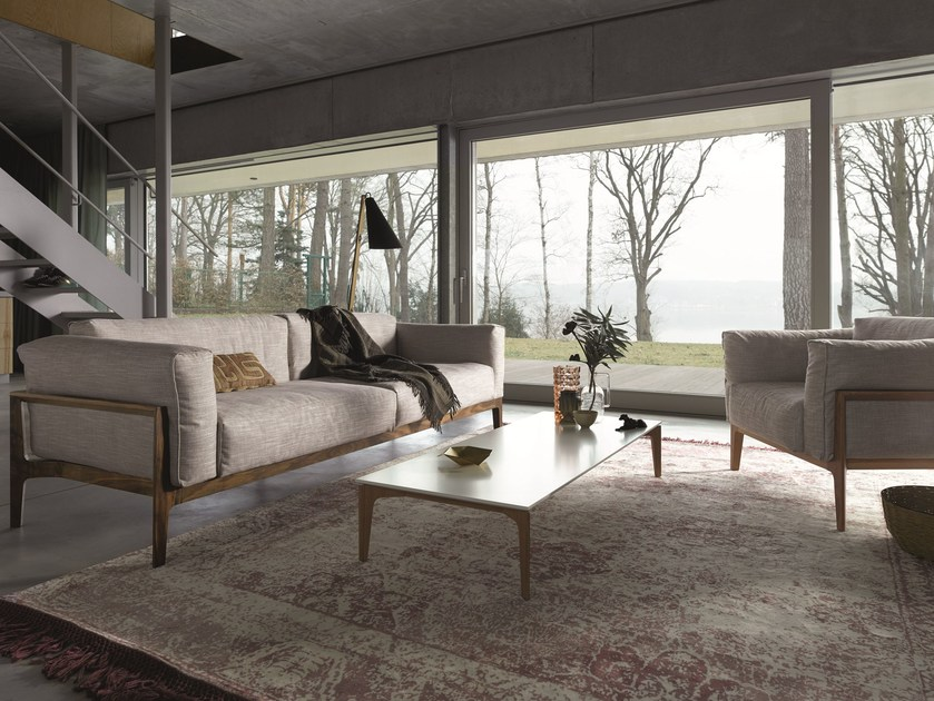 elm sofa aus stoff by cor design jehs laub. Black Bedroom Furniture Sets. Home Design Ideas