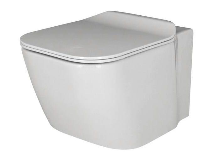 Wall-hung toilet ESSENCE-C | Wall-hung toilet - NOKEN DESIGN