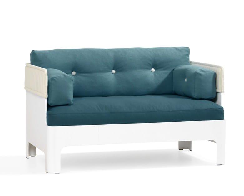 Fabric sofa KOJA HOTEL - Blå Station