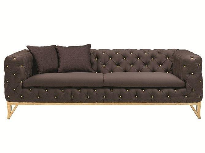 Tufted velvet sofa LANSBURY | Sofa - Ottiu