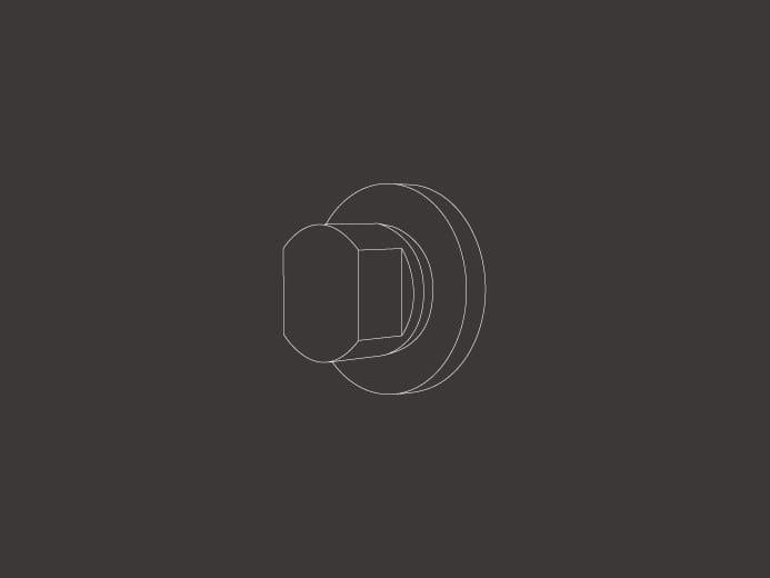 Stainless steel diverter DEV 02 by Ceadesign