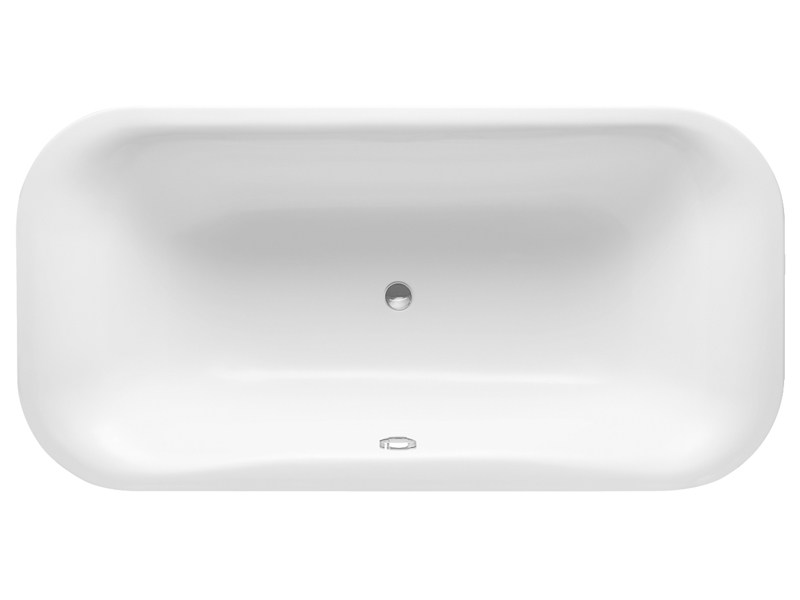 Built-in rectangular acrylic bathtub PURAVIDA | Built-in bathtub - DURAVIT