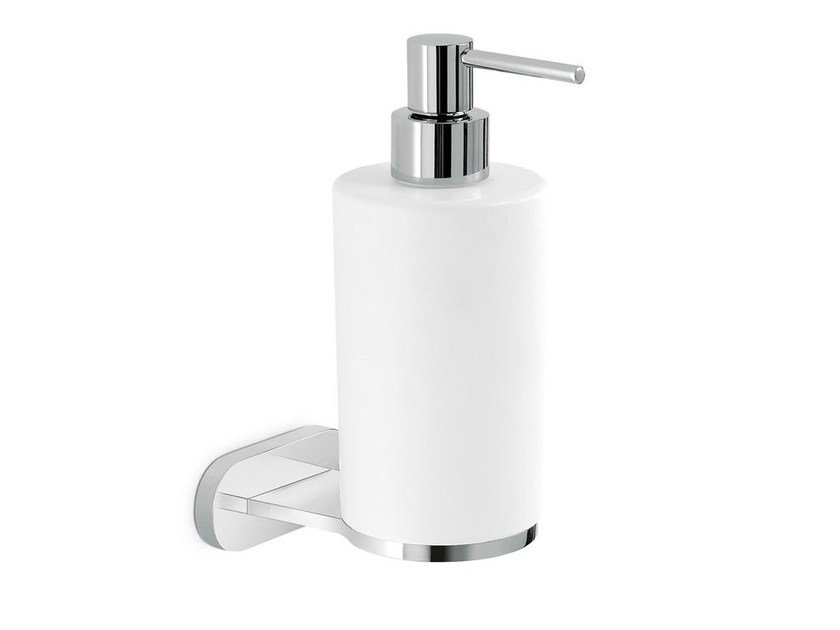 Wall-mounted liquid soap dispenser LINFA - O'RAMA ACCESSORIES | Wall-mounted liquid soap dispenser by newform