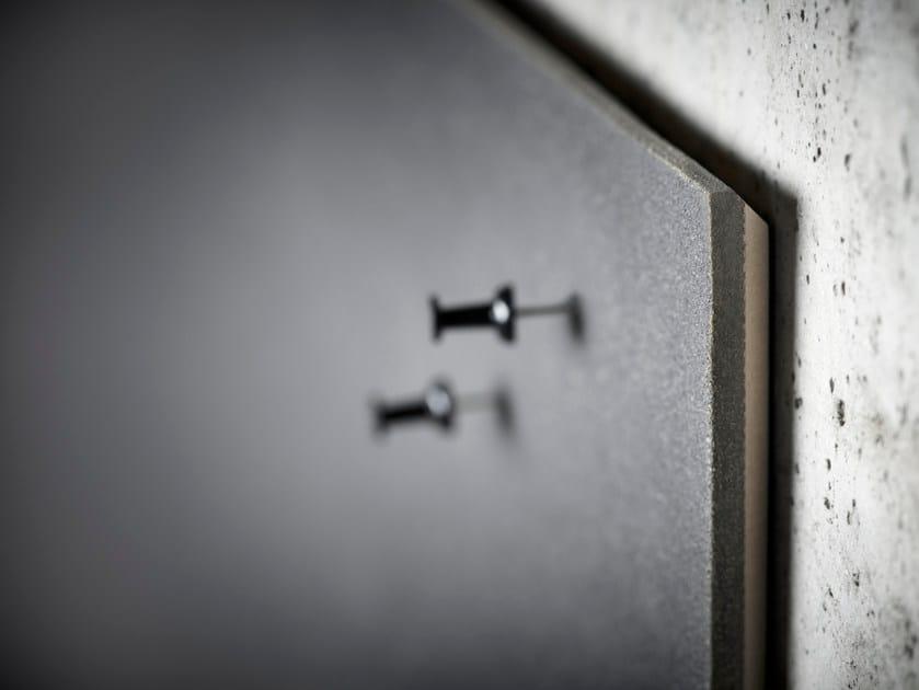 Wall-mounted office whiteboard Air Bulletin Board - Lintex