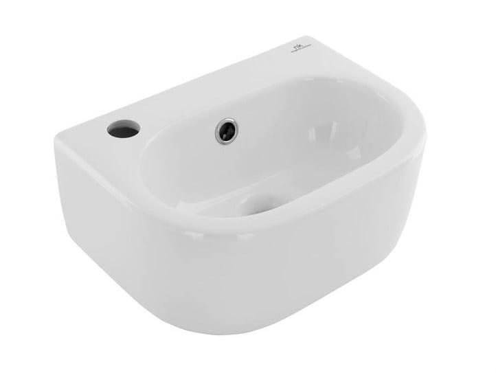 Oval wall-mounted handrinse basin ARQUITECT | Handrinse basin - NOKEN DESIGN