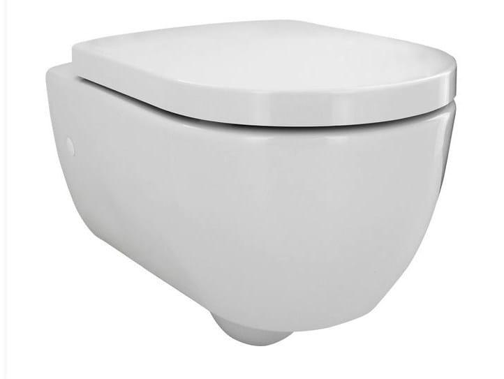 Wall-hung toilet with bidet ARQUITECT | Toilet with bidet - NOKEN DESIGN