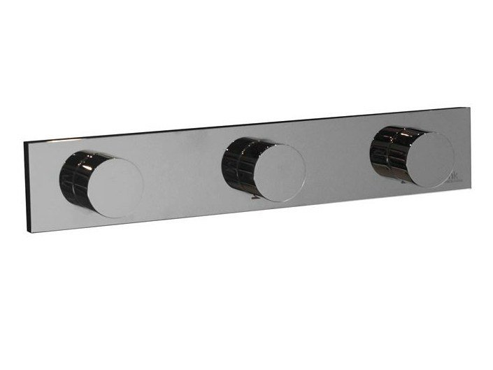 Wall-mounted chrome-plated bathtub tap with diverter GIRO | Bathtub tap with diverter - NOKEN DESIGN