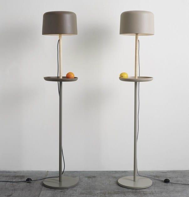 Handmade Ceramic materials floor lamp FUSE FLOOR - Ex.t
