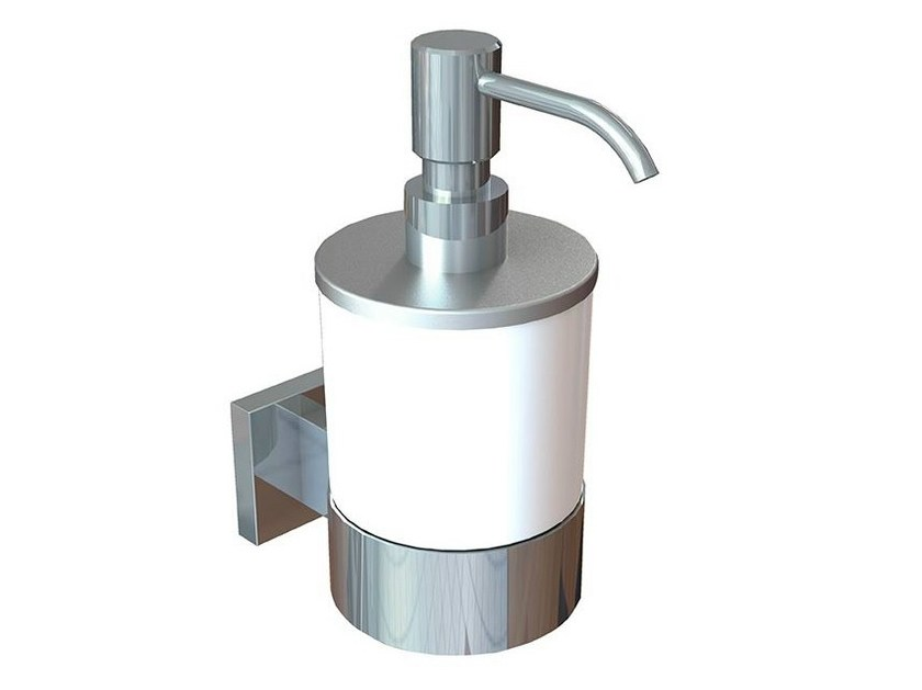 Wall-mounted liquid soap dispenser GIRO | Liquid soap dispenser - NOKEN DESIGN