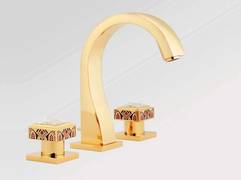 3 hole washbasin tap MASQUE DE FEMME SOLAIRE | Washbasin tap - INTERCONTACT