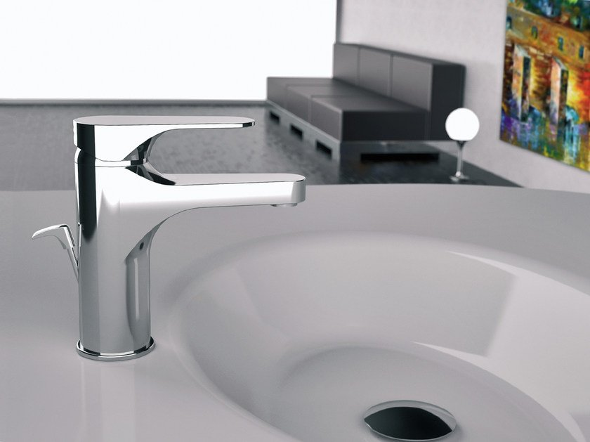 Countertop single handle 1 hole washbasin mixer CLASS LINE | Washbasin mixer - Remer Rubinetterie