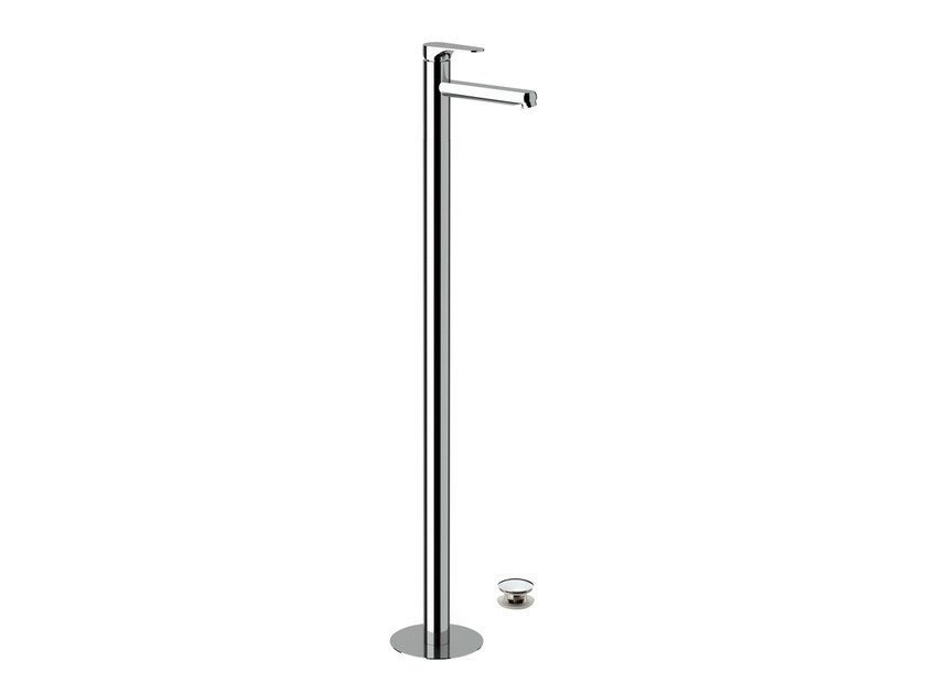 Floor standing single handle washbasin mixer CLASS LINE | Floor standing washbasin mixer - Remer Rubinetterie