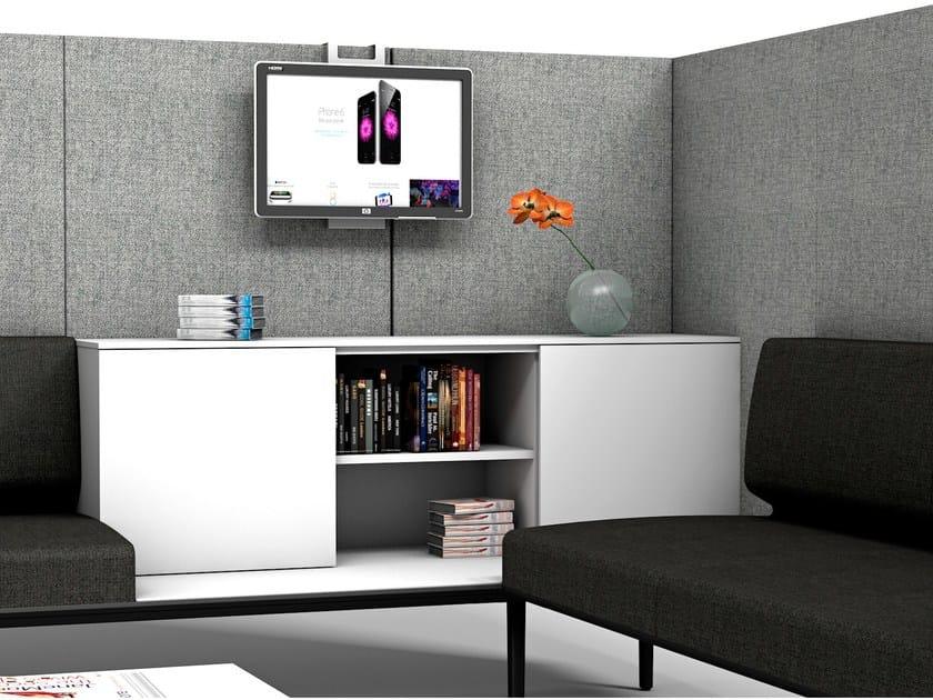 Low office storage unit LONGO   Office storage unit - ACTIU