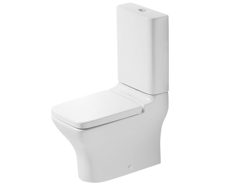 Close coupled ceramic toilet PURAVIDA | Close coupled toilet - DURAVIT