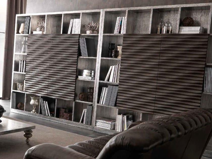 Freestanding storage wall EBON | Storage wall - CorteZari