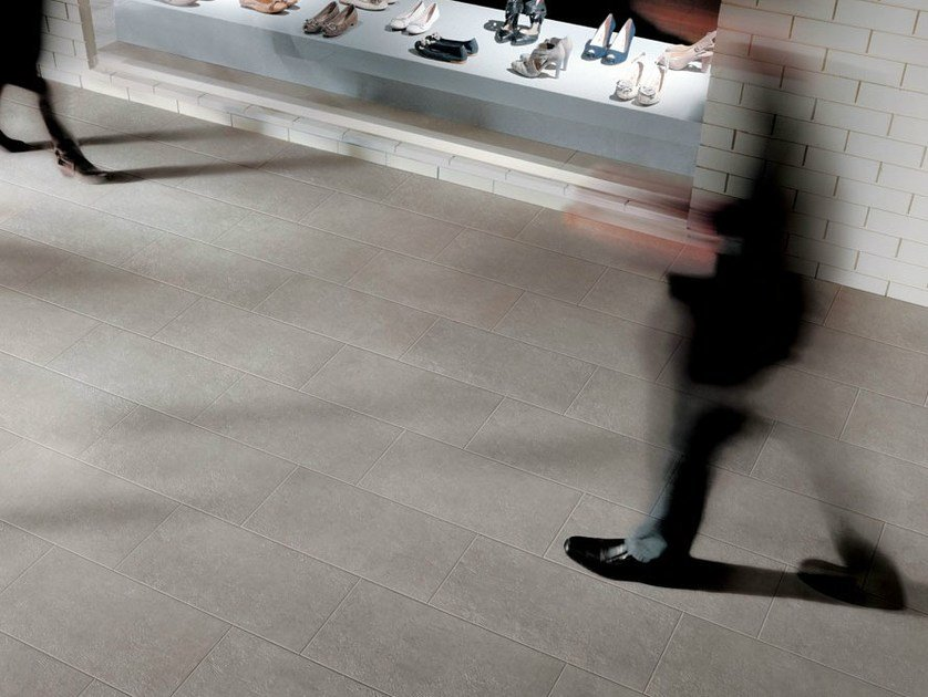 Porcelain stoneware outdoor floor tiles with stone effect ORAGE - NOVOCERAM