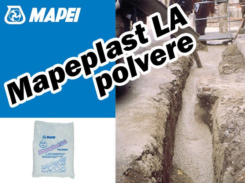 Additive for cement and concrete MAPEPLAST LA Polvere - MAPEI