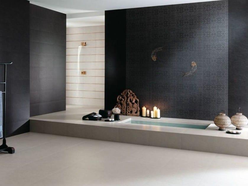 Porcelain stoneware wall/floor tiles with stone effect SAMSARA - NOVOCERAM