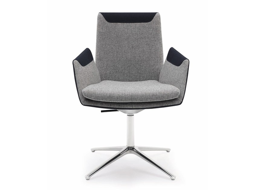 Task chair with 4-Spoke base with armrests CORDIA | Task chair with 4-Spoke base by COR