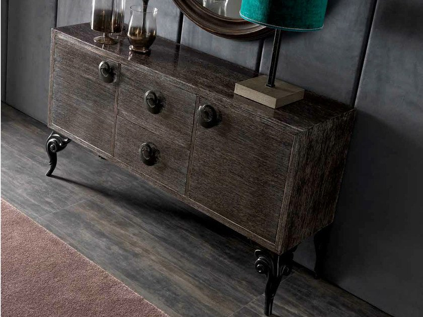 Oak sideboard with drawers KEOPE | Sideboard with drawers - CorteZari