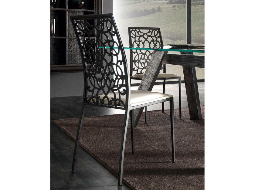 Upholstered chair PIGALLE | Chair - CorteZari