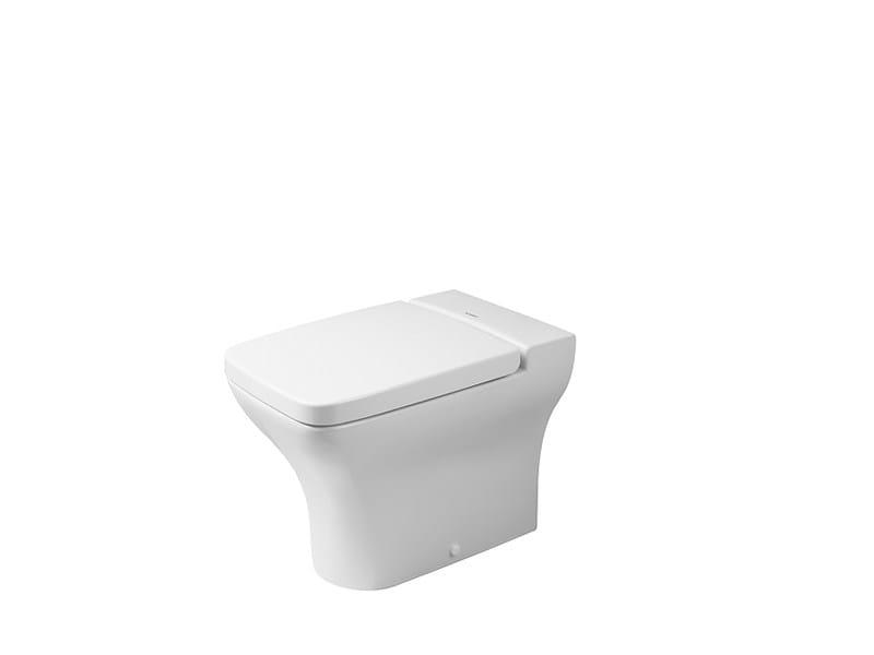 Ceramic toilet PURAVIDA | Toilet - DURAVIT